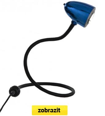 lampička flexi modrá