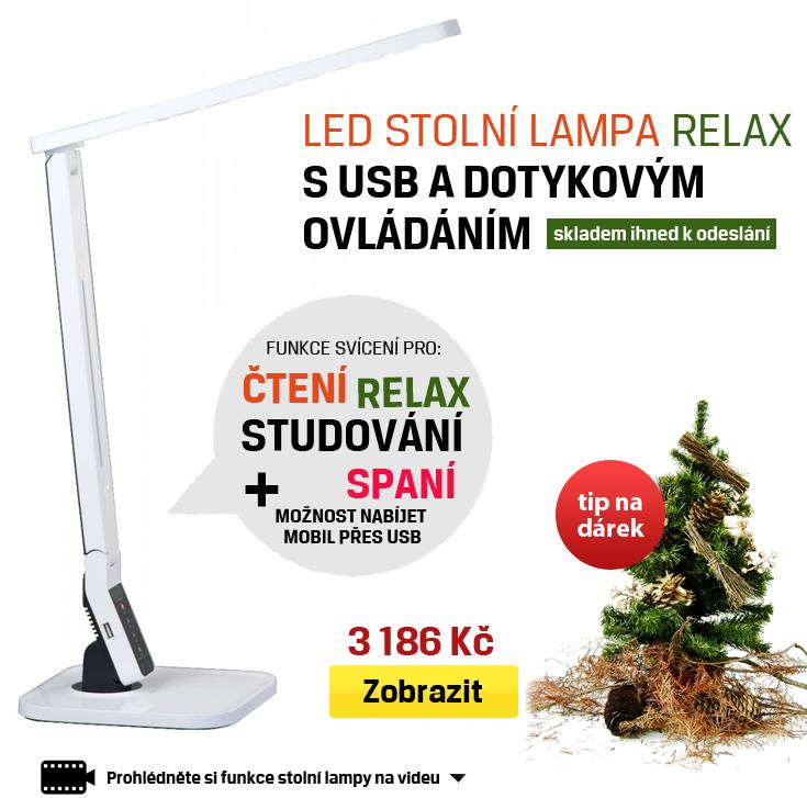 led lampa stolní