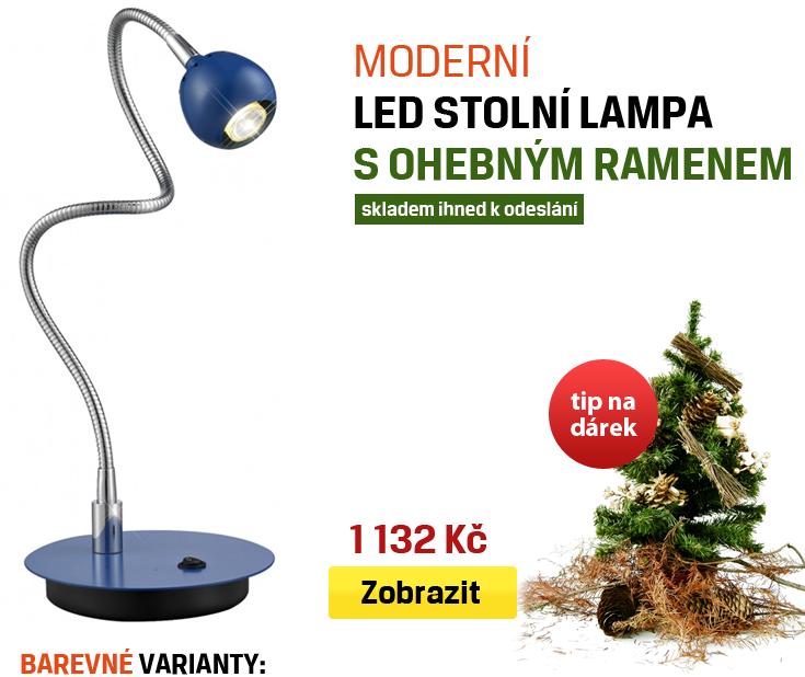 ohebná led stolní lampa