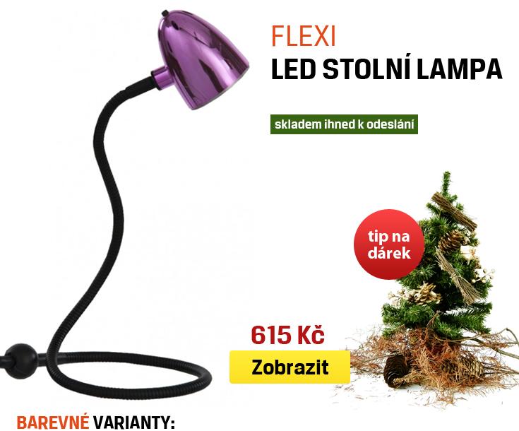 led stolní lampa flexi